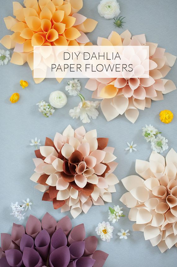Diy diy paper flowers 2352095 weddbook diy paper flowers mightylinksfo