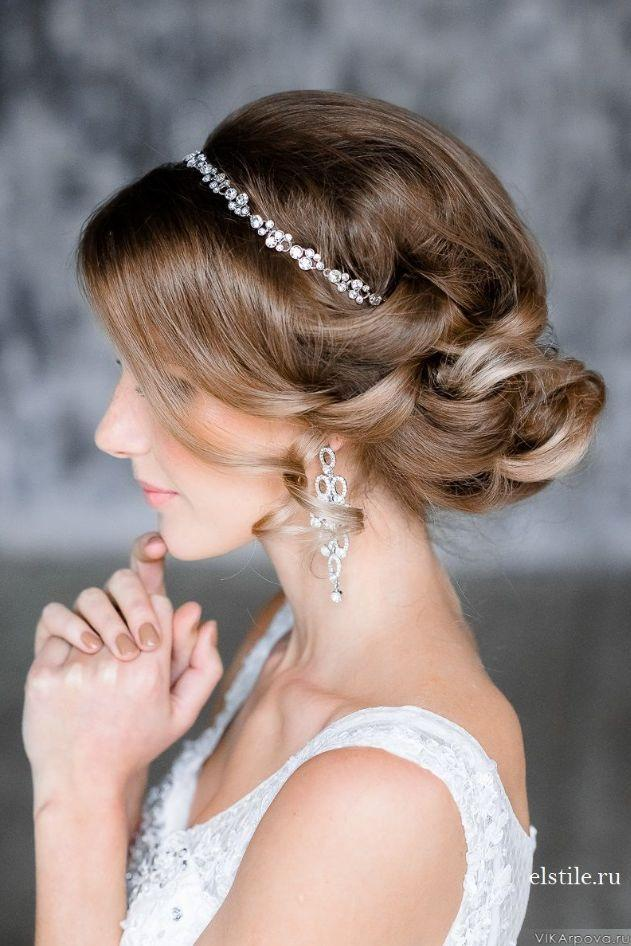 Hochzeit - Wedding Hairstyles With Pure Elegance