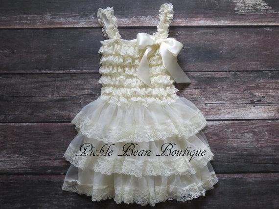 8a7b06887 multiple colors 9f931 2b4d9 rustic flower girl dress baby dress ...
