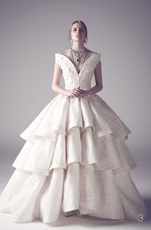 Wedding - Ashi Studio Fall 2015 Couture Wedding Dresses