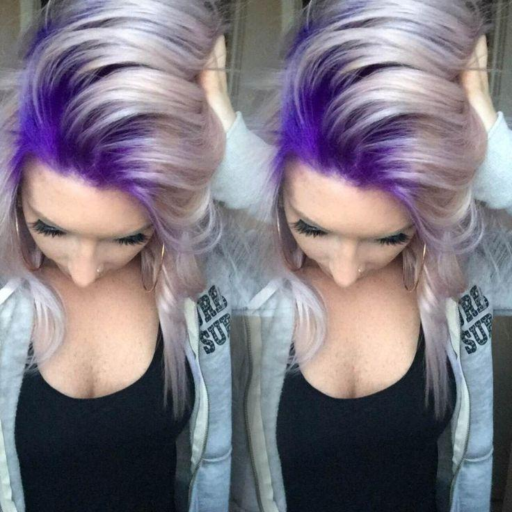 Свадьба - Stylist Selfie! Formula For This Gorg Purple To Platinum Melt