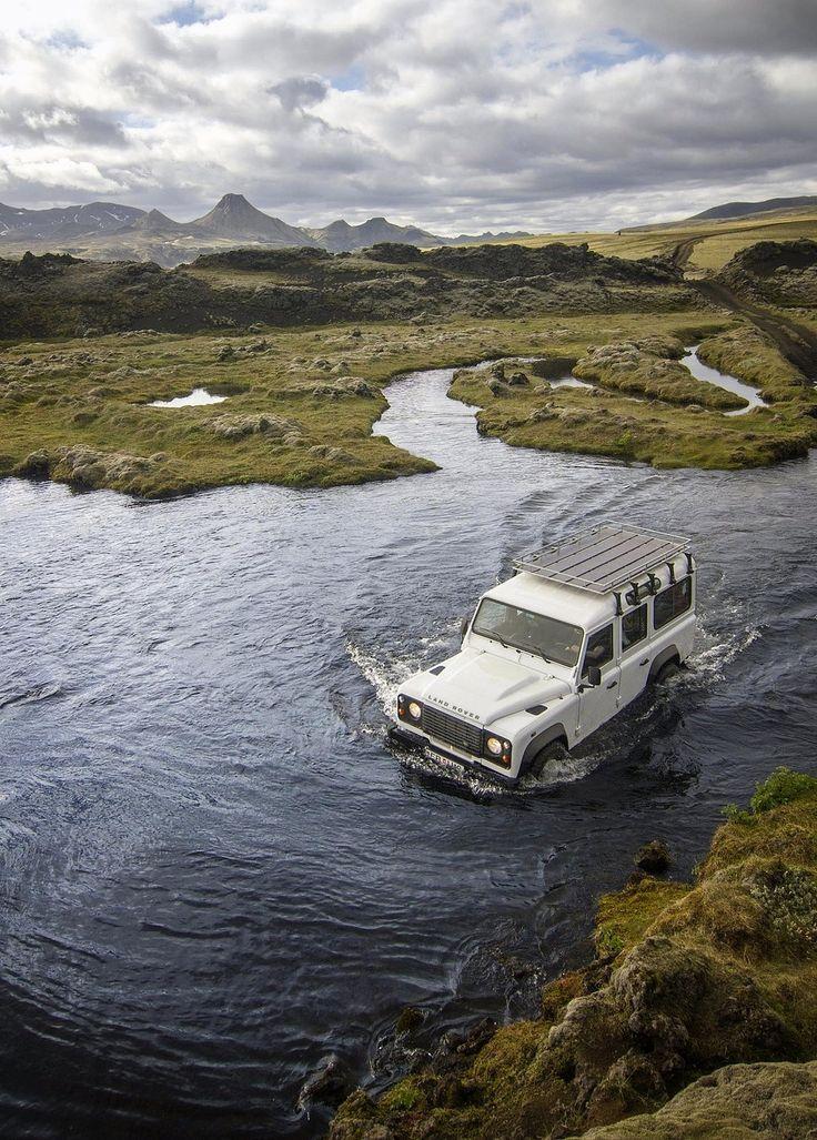 Wedding - Best Way To Cross A River In Lakagigar, Iceland.