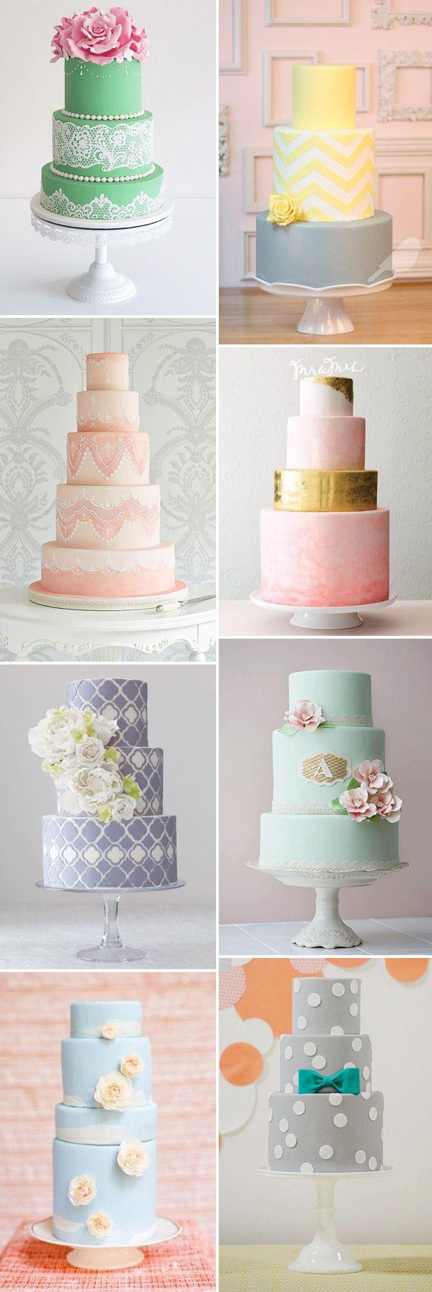 زفاف - Colourful Wedding Cakes Are So Hot Right Now