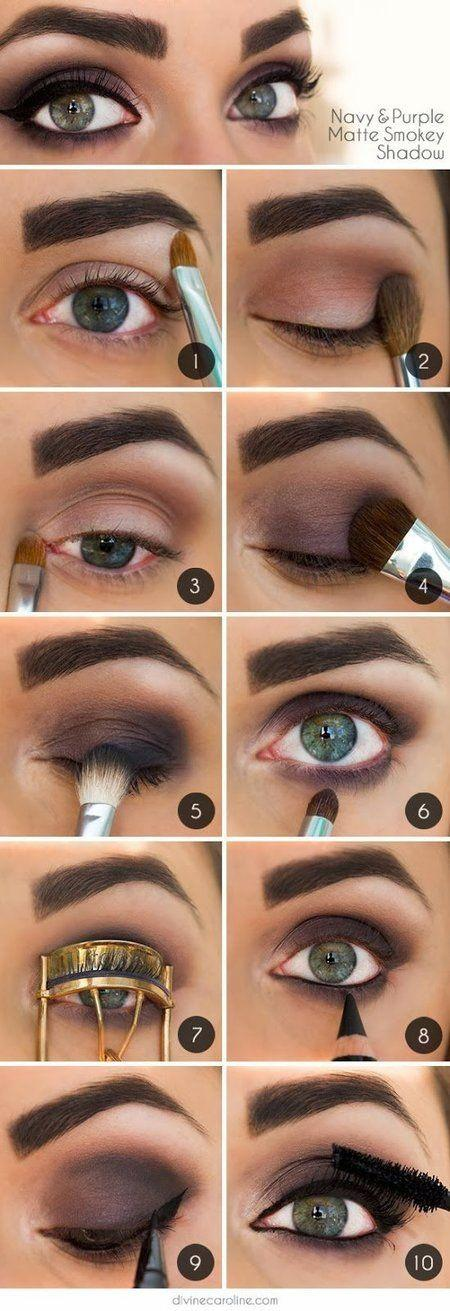 Свадьба - 12 Awesome Smokey Eyes Tutorials {The Weekly Round Up