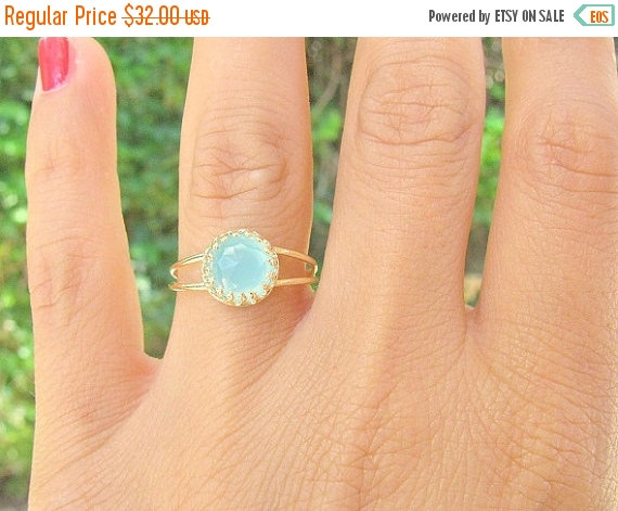 Mariage - 20% OFF Opal ring, Gold ring, Pacific Opal ring, gold opal ring, stacking ring,  vintage ring, opal vintage ring, bridal jewelry, gold opal