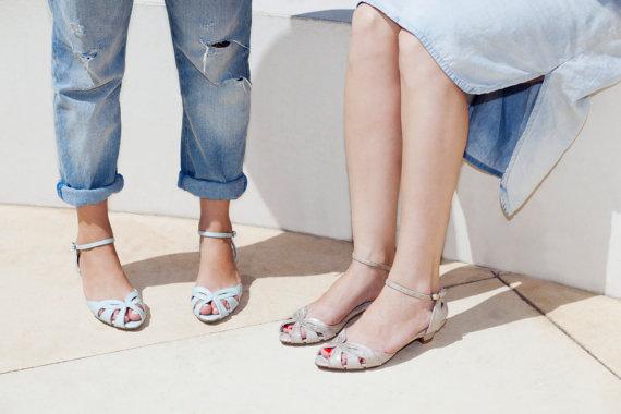 زفاف - SALE 20% Off // Wedding Shoes, Bridal Shoes, Bridesmaid Shoes, Bridal Flats, Gold Shoes, Gold Sandals, Free Shipping