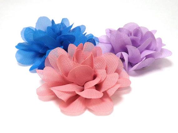 Свадьба - Mini Mums - Cat or Small Dog Collar Flower