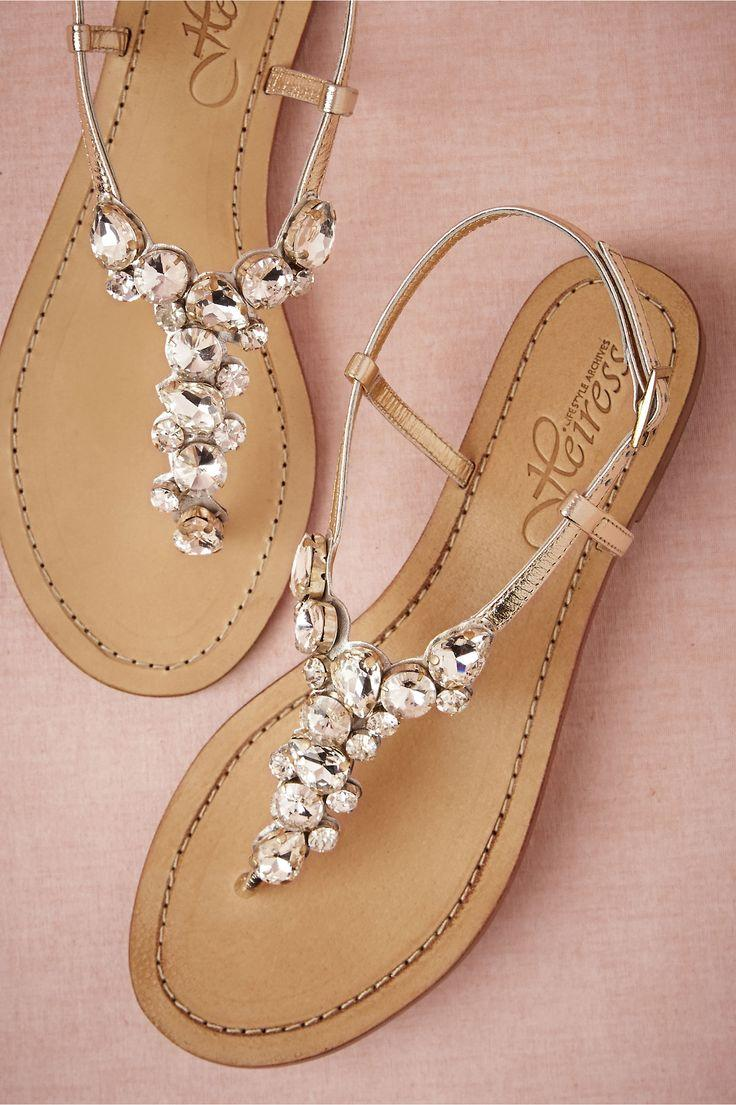 Wedding - Demure Sandals In  Shoes & Accessories Shoes At BHLDN