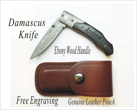 Giving Knives As A Wedding Gift : Groomsmen Gifts Personalized Knives Engraved Custom Wood Knife ...