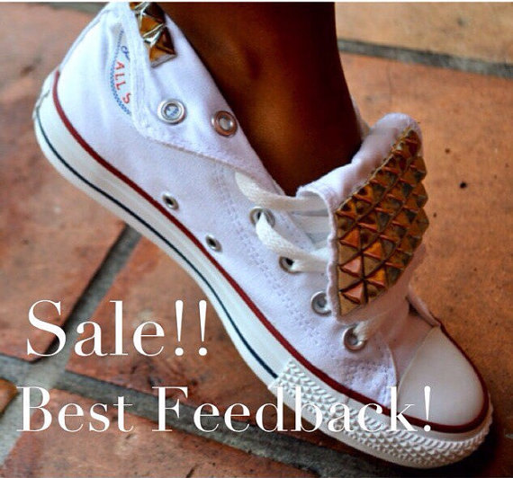 Studded Converse Chuck Taylor All Star Shoes #2353086 - Weddbook