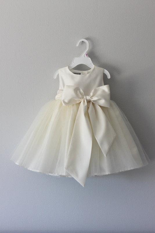 Свадьба - The Nancy Dress: Handmade flower girl dress, tulle dress, wedding dress, communion dress, bridesmaid dress, tutu dress