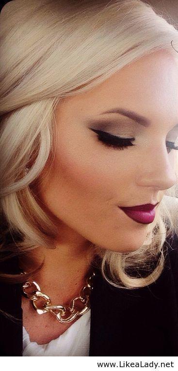 Свадьба - Beautiful Fall Makeup - LikeaLady.net