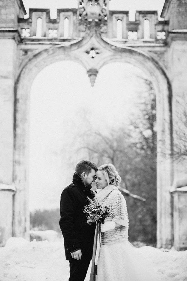 Mariage - Romantic Russian Wedding At Marfino Restaurant