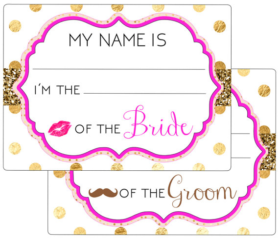 printable name tagseventweddingengagementparty rehearsalbridal showerbacheloretteguest name tags digital file
