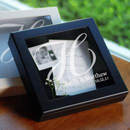 Wedding Wishes Keepsake Shadow Box Wedding Day Alternative To Candle