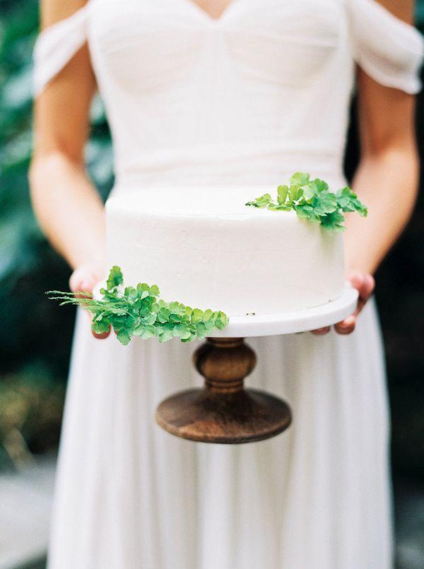 زفاف - Elegant Organic Black And White Wedding Shoot