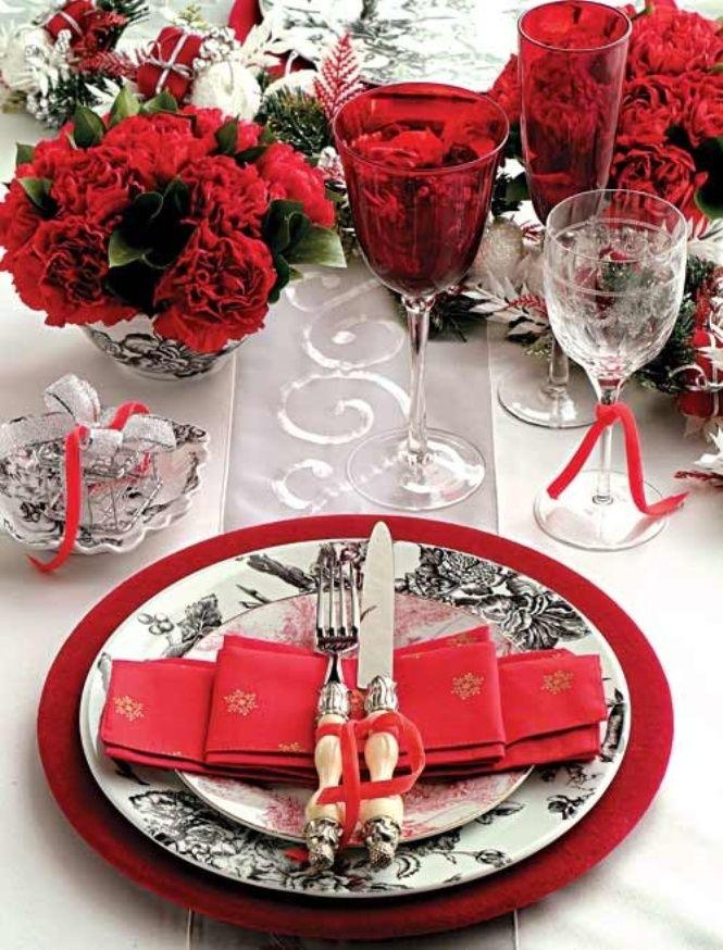 Mariage - Ciao! Newport Beach: Christmas Table Details