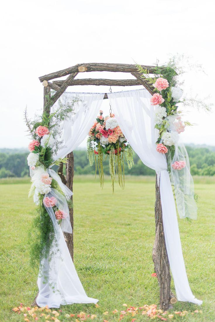 Mariage - Inspired Romantic, Vintage Wedding At Braeloch In Roanoke, Virginia