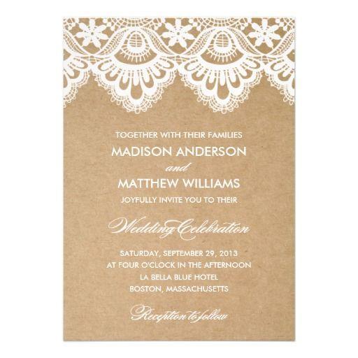 زفاف - Invitations