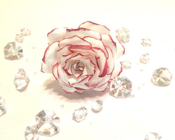Wedding - Cake topper, Wedding cake flowers, Wedding Decor, Paper Flowers, Fake Flowers, Bridal flower decor, Quinceanera flowers, Baby shower decor