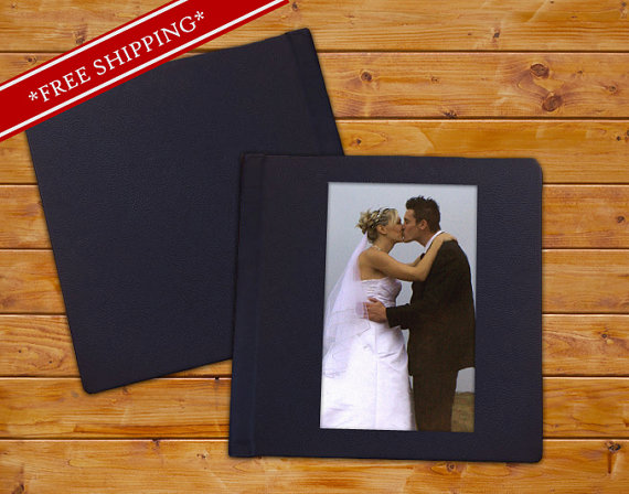 Wedding - Custom Wedding Album with Cameo and Genuine Leather Cover - Flush Mount Wedding Album - Wedding Album with Leather Cover 10 x 10