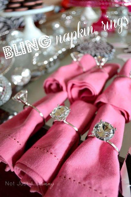 Real Partytuesday Tip Bling Baby Shower Table Oriental Trading