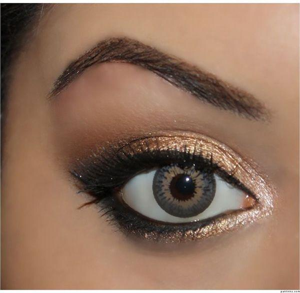 Свадьба - 12 Easy Ideas For Prom Makeup For Hazel Eyes