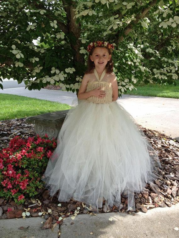 Mariage - Choose Your Own Color Flower Girl Dress Tutu  Wedding Tutu Dress