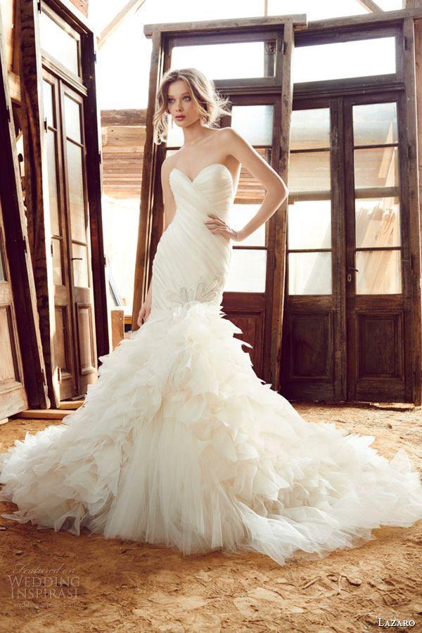 Mariage - Lazaro Fall 2015 Wedding Dresses