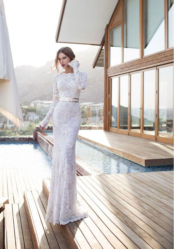 Hochzeit - Top 7 Wedding Dress Trends For Fall 2015
