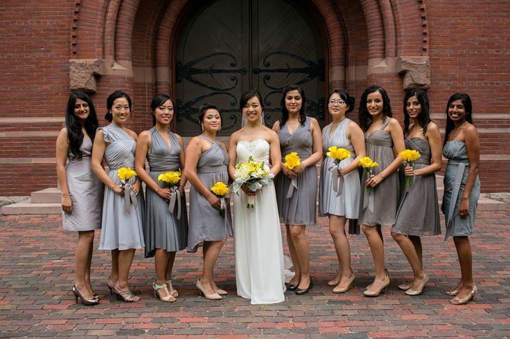 Wedding - Yellow And Grey Wedding By Nicole Chan Photography