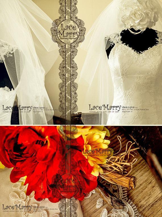 Свадьба - Magnolia Long Waltz Length Multi-Layered Flyaway Simple Transparent Wispy Tulle Veil with Comb - Vintage Inspired Wedding Bridal Accessories