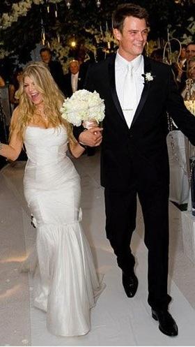 Свадьба - Celeb Wedding Inspiration: Fergie   Josh Duhamel