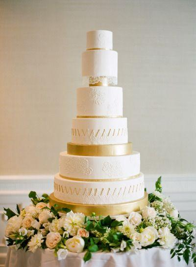 زفاف - The 13 Most Glamorous Wedding Cakes You've Ever Seen