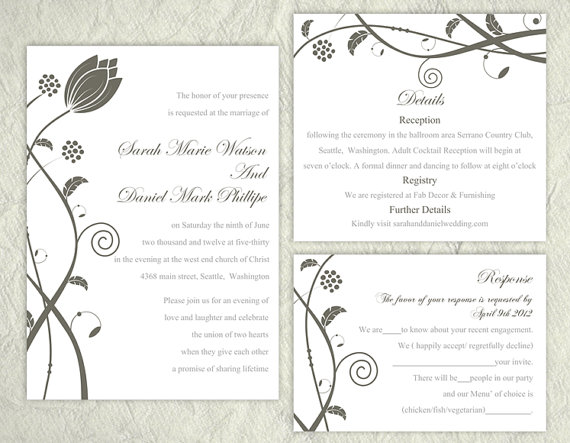 word wedding invitation templates