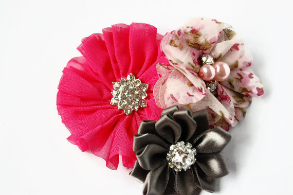 Свадьба - Dog collar flowers. Dog collar, dog collar bling, collar Flowers, Wedding Dog Flowers, Bows for Dogs, Dog Bows, Pet flower, pink dog flower