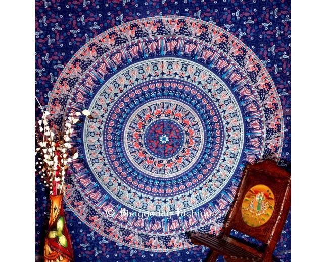 زفاف - Buy Attractive Design Blue Traditional Boho Beach Tapestry Bedding