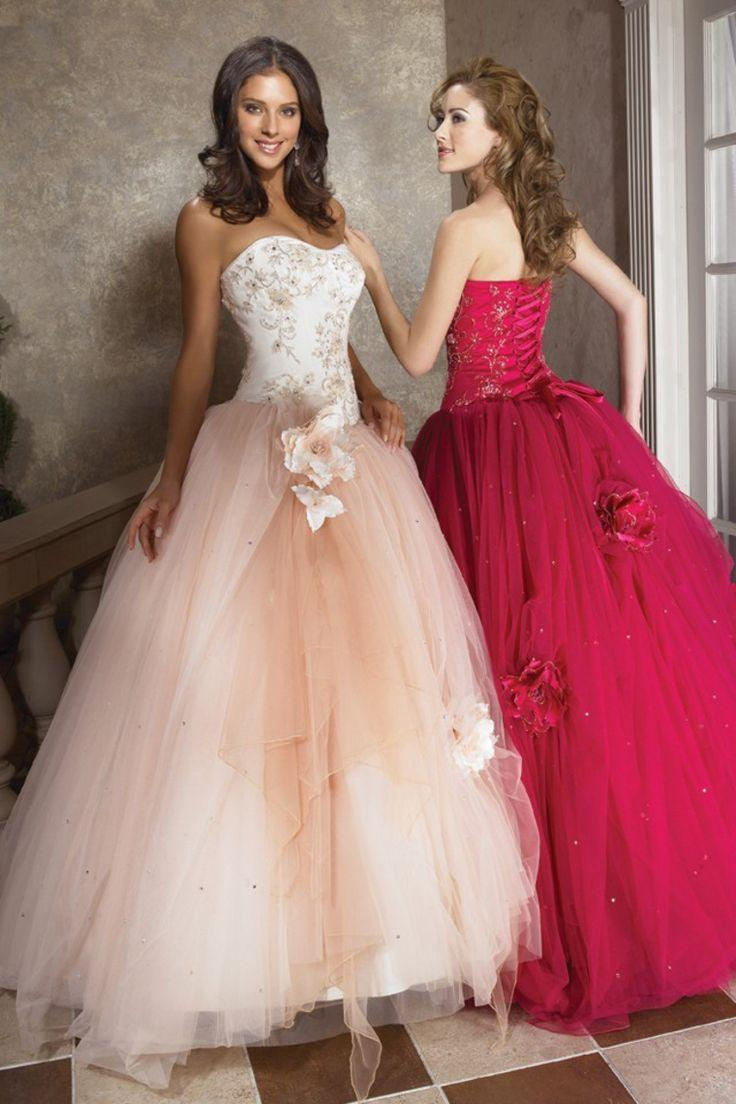 Mariage - Quinceanera Dresses Handmade Ball Gown And Sweetheart