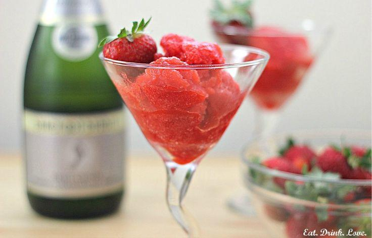 Wedding - Strawberry Champagne Sorbet