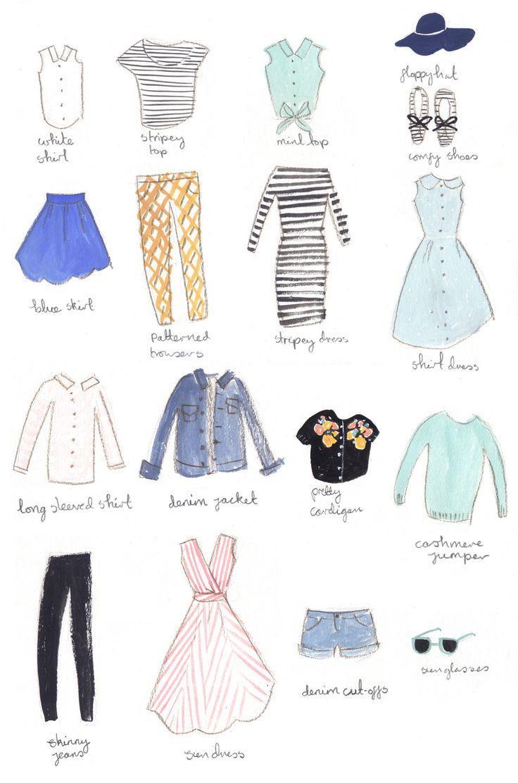 Wedding - My Illustrated Holiday Wardrobe