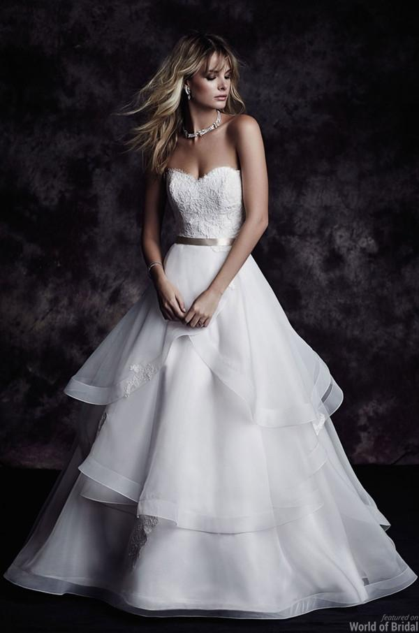 Paloma Blanca Fall 2015 Wedding Dresses #2356449 - Weddbook