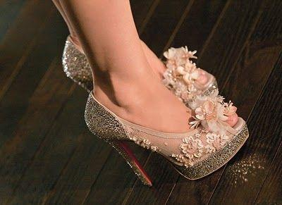 Wedding - Dubai Fashionista: Louboutin Burlesque Shoes