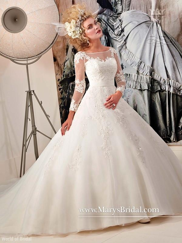 Mary 39 s bridal spring 2015 wedding dresses 2356680 weddbook for Pc mary s wedding dress