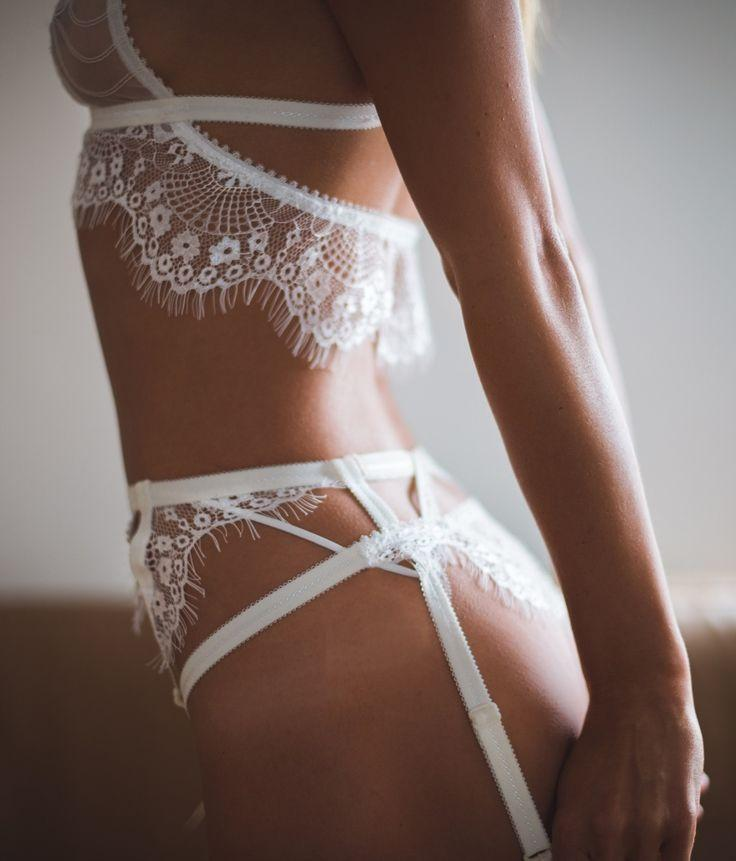 Wedding - A V I A N I - Tisja Damen Lingerie ~ 'Fleurs Du Mal' Collection...