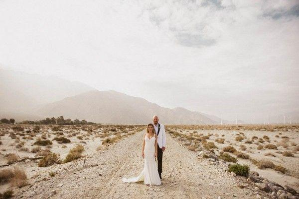 Mariage - Black And White Wedding At Riviera Palm Springs