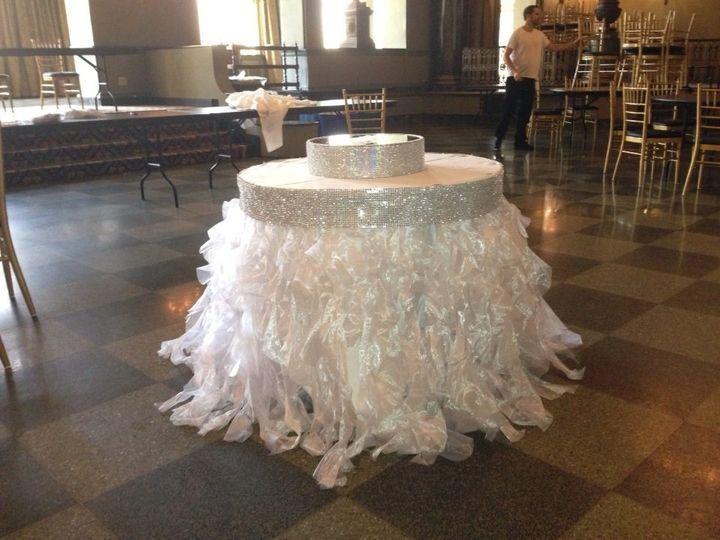 Ideas - White Tutu Cake/head Table Skirting #2357106 - Weddbook