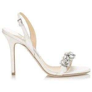 زفاف - Jimmy Choo Shoes 2014 Wedding Ivory-side