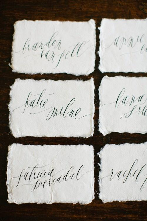 Wedding - Calligraphy And Hand Lettering