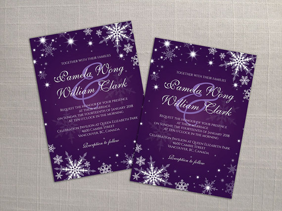 Wedding Invitation Card Template Free Download: DIY Printable Wedding Invitation Card Template #2358425