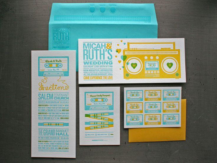 Wedding - Letterpress   Foil Stamp
